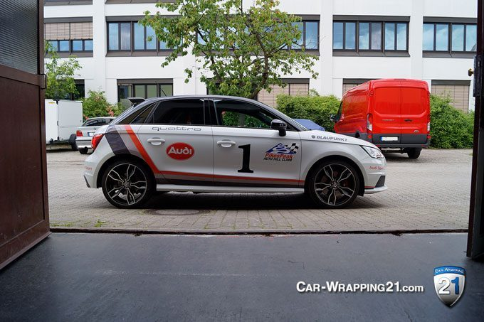 Folierung München Audi S1 Quattro Design Pikes-Peak
