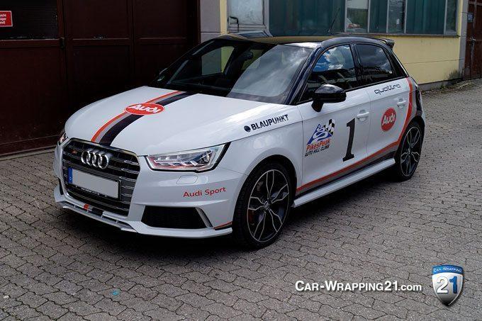München Autofolierung Audi S1 Quattro Folierung| Audi S1 Quattro Design Pikes-Peak