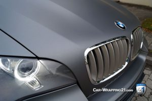 Bmw X5 auto matt folieren