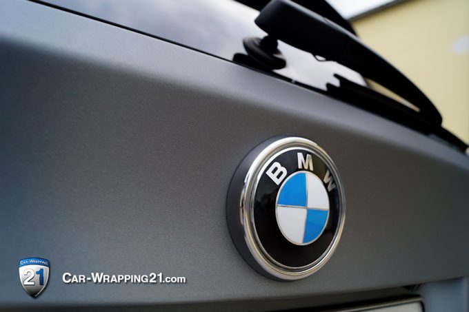 FahrzeugfolierungGrau Matt Bmw X5 München